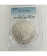 1882 O $1 PCGS MS 63 Morgan Silver Dollar Better Date Uncirculated - $185.00