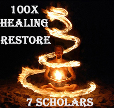 1000X 7 SCHOLARS HEALING RESTORE NECTAR OF THE SUN EXTREME MAGICK RING PENDANT - $300.77