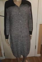 Calvin Klein grey sweater dress size large - $23.38