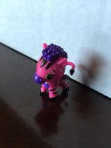 HATCHIMALS COLLEGGTIBLES MINI FIGURE  PURPLE ZEBRA  SAVANNAH   LOOSE  - $6.80