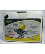 Bench Shipping Metal Label Dispenser Excell Twin Plastic Rollers w/ C Cl... - $29.99