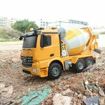 RC Truck 2.4G Remote Control Cement Mixer RC Dump Truck With Simulated L... - $1.064,80 MXN