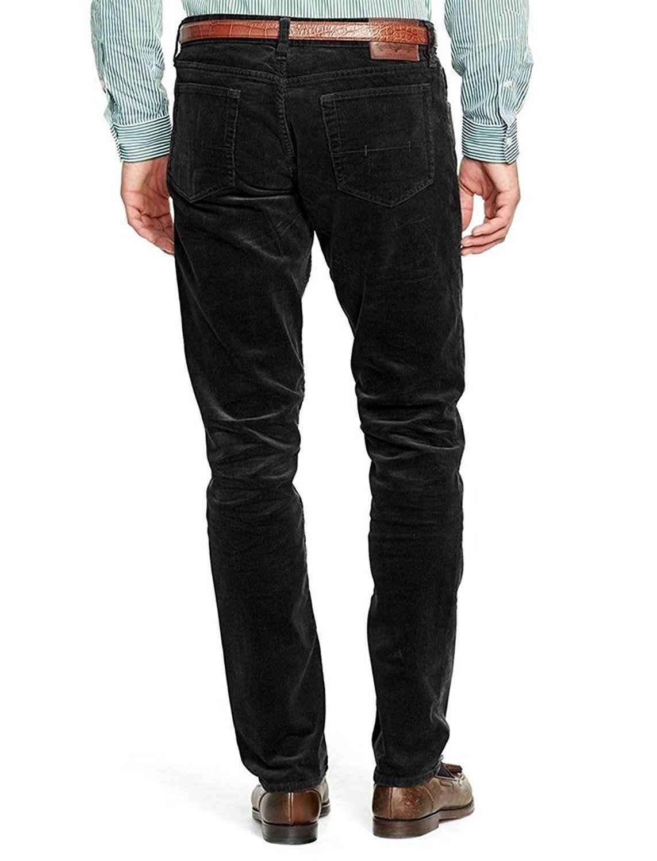 Polo Ralph Lauren Varick Slim Straight FIT Jeans Pants 32 30 32W 30L BLACK