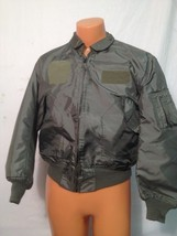 SUMMER AIR FORCE FLYERS COAT JACKET CWU-36/P LARGE  ITEM# D9 - $79.15