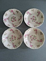 "4 Beautiful Theodore Haviland New York ""Delaware"" Berry Bowls Vintage - $22.50"