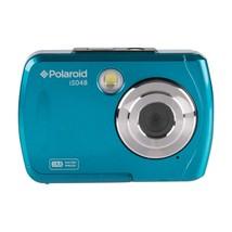 Polaroid IS048-TEAL 16.0 Megapixel Waterproof Instant Sharing Digital Camera - $63.89