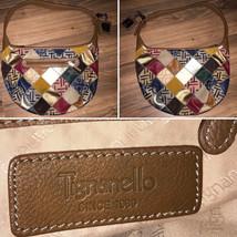 Vintage Tignanello Purse Handbag Bag Hobo Patchwork - $49.99