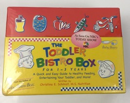 NBC Today Show Baby Toddler 1-3 Yrs. Bistro Healthy Eating Feeding Fun F... - $16.82