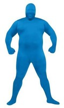 Skin Suit Costume Blue Jumpsuit Adult Men Women Halloween Plus Size FW13... - $44.99