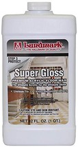 Lundmark Super Gloss Acrylic, Extra Heavy-Duty Hard Finish Floor Wax, 32-Ounce,