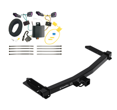 Trailer Tow Hitch For 14-19 Dodge Durango All Styles Receiver w/ Wiring ... - $202.43