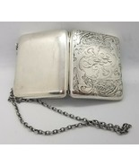 Stunning Blackinton Sterling Silver Decorative Art Nouveau Purse Card wa... - $464.31