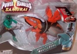 Power Rangers Samurai Beetlezord Verde Foresta Nuovo con Scatola Bandai ... - $24.98