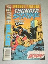 Vintage COMIC- Marvel Double FEATURE- Thunder STRIKE/CODE BLUE- L3 - £2.95 GBP