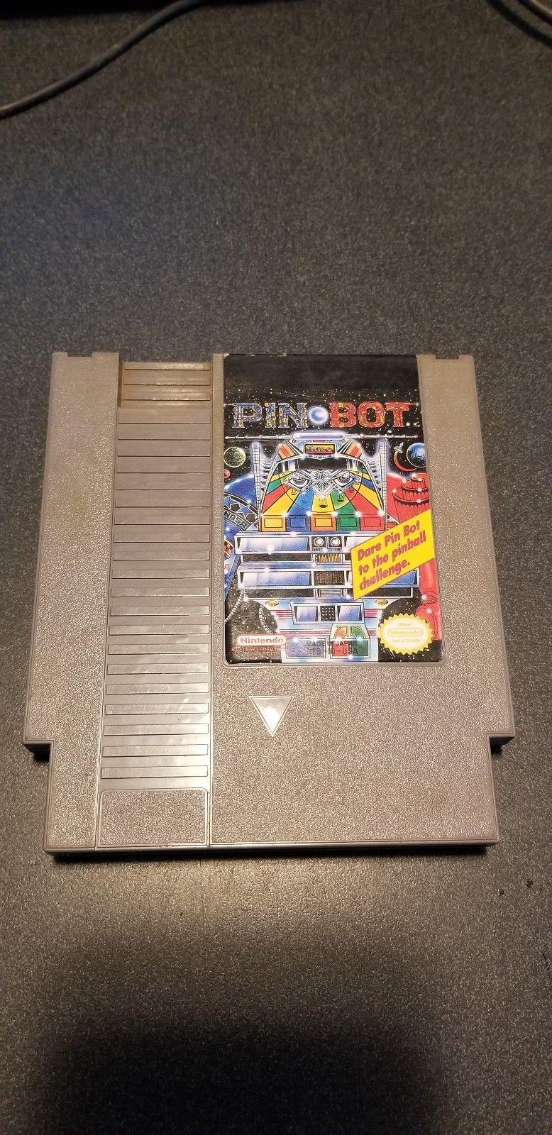 Pin-Bot - NES Nintendo Game Pinbot