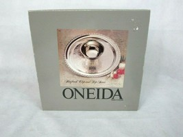 Vintage Oneida  Maybrook Silver Plate Chip and Dip Server 1987 - $18.99