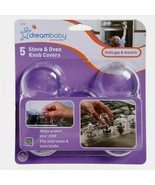 Dreambaby L730A STOVE KNOB COVERS Child Safety Oven Grill Stove Covers 5... - $13.99