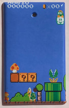 Super Mario brothers Games 8 bit Light Switch Outlet Wall Cover Plate Home Decor image 4