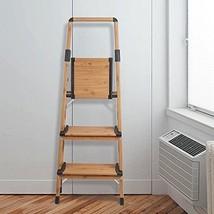 3 Step Aluminum Ladder Stool Anti-Slip Folding Home Kitchen 330 Lbs Capa... - $105.05