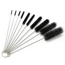 Bottle Cleaning Brushes, 8 Inch Nylon Tube Brush Set, Cleaner for Narrow Neck Bo