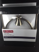 Delta Lahara Towel Ring Holder in Champagne Bronze 73846-CZ - $15.88