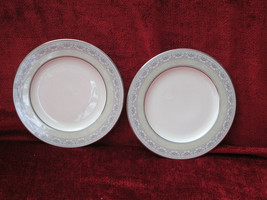 Noritake Sanderville set of 2 bread plates - $11.83
