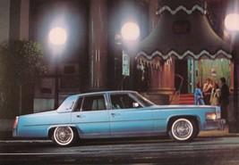1977 Cadillac Fleetwood Brougham Sedan Original Large Dealer Post Card, ... - $2.95