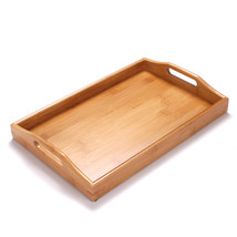 Kung Fu Tea Tray Handmade For Glass Teapot Cups Set Bamboo - $40.95