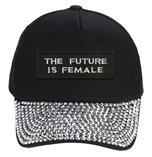 The Future Is Female Hat - Style Cap Color Options (Rhinestones)