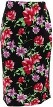 Slinky® Brand Stretch Knit Textured Pencil Skirt Fublfl S NEW 601-968 - $13.83