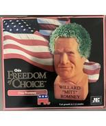 """Brand new Willard """"Mitt"""" Romney Freedom of Choice Chia pet 2012 Candiate - $19.99"""