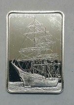 Gorch Fock Silver art ingot bar Colonial Mint Lot# N 514