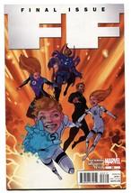 FANTASTIC FOUR #23-Last Issue comic book-Marvel 2012-NM- - $18.62