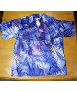 VINTAGE 1980s BRITT MIAMI VICE STYLE SHIRT SIZE 42 MADE IN HUNGARY - $46.71