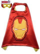 Superhero or Princess Kids CAPE MASK SET Childrens Halloween Costume (Re... - $13.49