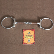 """5"""" Hilason Western Stainless Steel Horse Copper Mouth Bit W/ 2.5"""" Ring U-2865 - $20.45"""