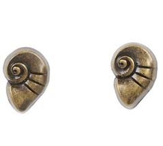 Disney The Little Mermaid Ariel Conch Shell Stud Earrings - $8.41