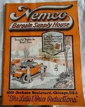 Rare Automobile & Car Parts Catalog 1922 NEMCO Radiator Tires Bodies Tools  - $80.00