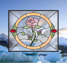 Stained Glass Rose Window - $397.00