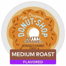 Original Donut Shop Nutty Caramel Single Serve Kcups 72CT - $47.89