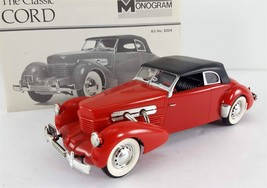 Vintage Monogram 1937 Cord Supercharged 812 Convertible 1/24 Built Model... - $39.59