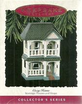 Hallmark Keepsake Ornament Cozy Home 10th in Series QX417-5 1993 - $5.93