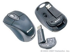 Microsoft Wireless Notebook Optical Mouse 3000 - Slate (BX3-00012) - $75.00