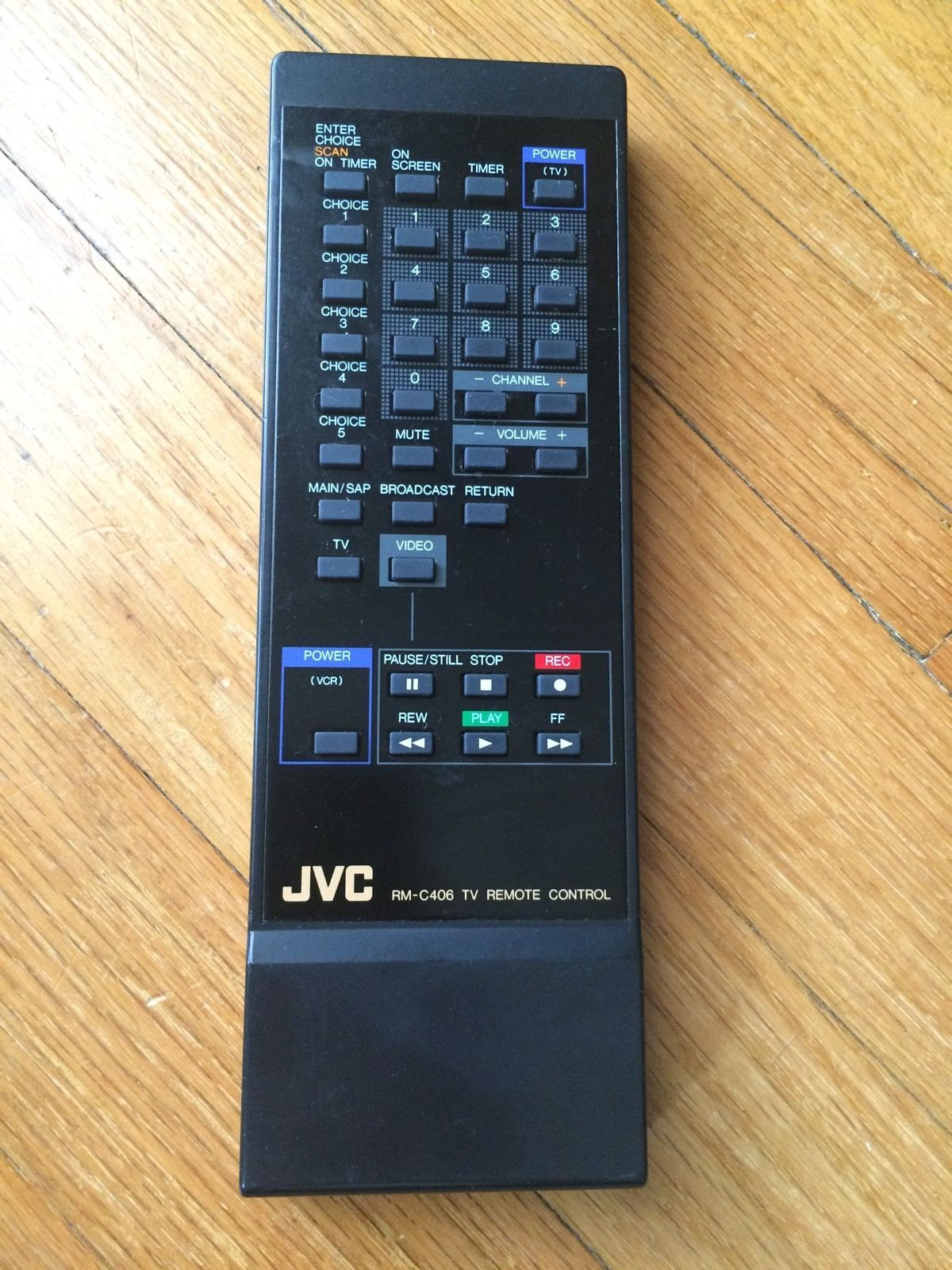 Primary image for JVC RM-C406 ORIGINAL Remote Control Tested and Working