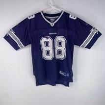Reebok On Field Dallas Cowboys Youth Sz L 14-16 Blue #88 Dez Bryant NFL ... - $27.68