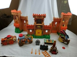 Fisher Price Imaginext Eagle Talon Medieval Castle 2012 w/ Accessories Used - $39.99
