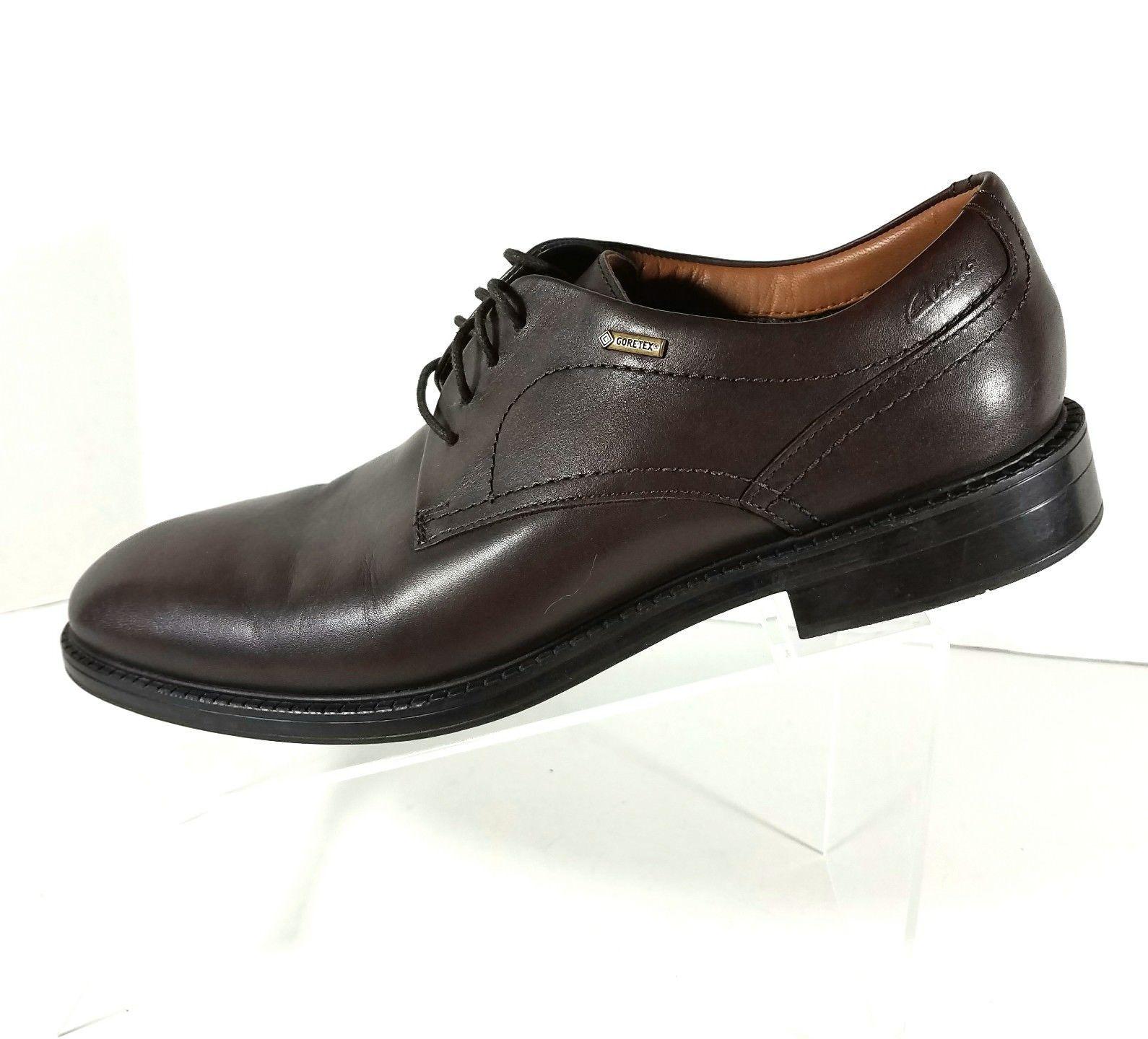 Clarks Chilver Walk Gore-Tex Derby Shoes Oxfords Men's Size 8.5M Brown 26109690