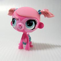 Littlest Pet Shop # 2700 Minka Mark Pink Monkey in Skirt TTAP  - $7.00
