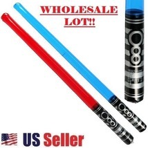 Light Saber Star Wars Look Blow Up Red & Blue Toy Sword New (WHOLESALE B... - $16.82+