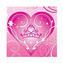 Disney Princess Sparkle Dessert Beverage Napkins 16 Ct Birthday Party Su... - $2.96